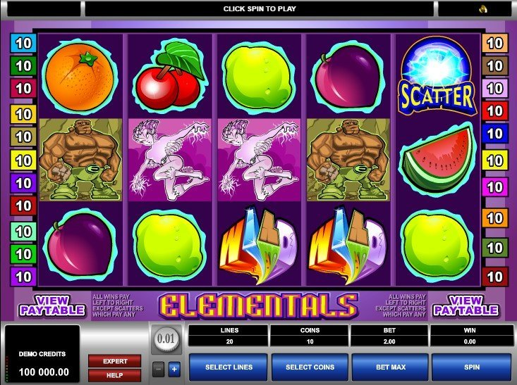 Elementals Slot Review