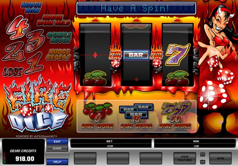 Fire N Dice Slot Review