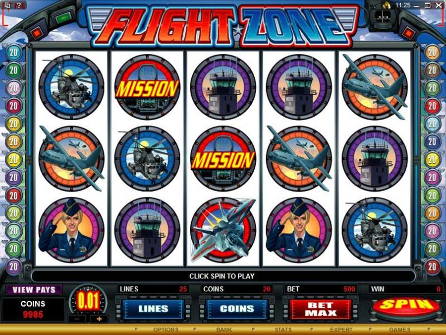 Flight Zone Slot Review