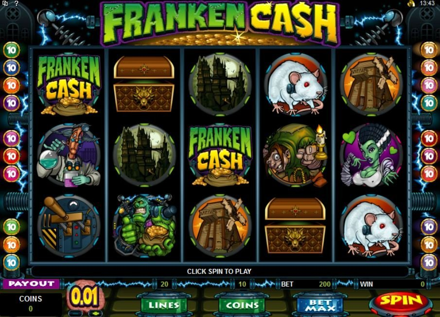 Franken Cash Slot Review