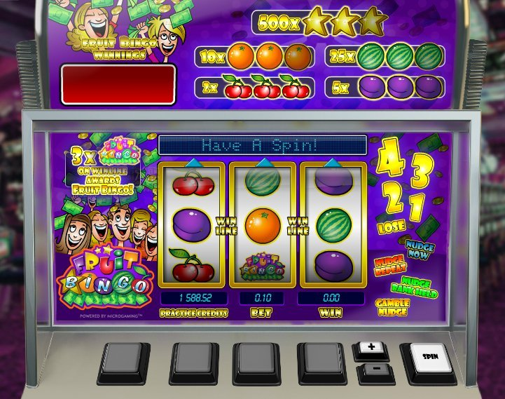 Fruit Bingo Slot Review