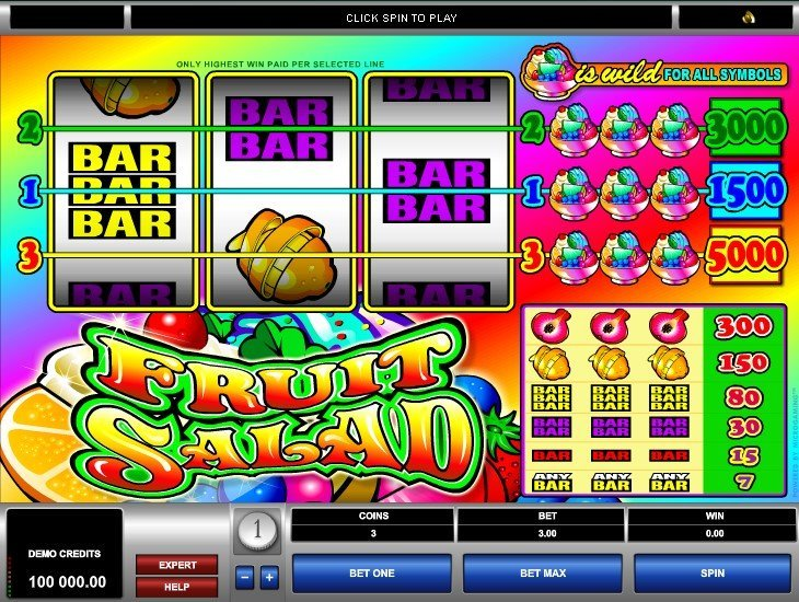 Fruit Salad Slot Review