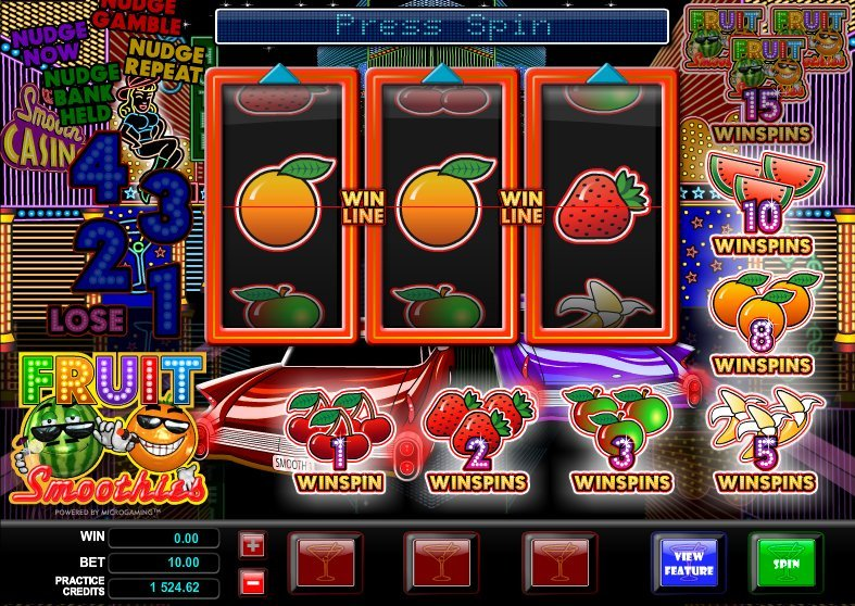 Fruit Smoothies Slot Review