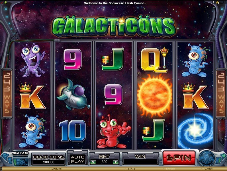 Galacticons Slot Review