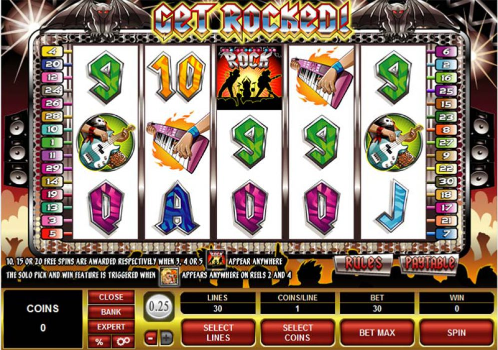 Get Rocked Slot Review