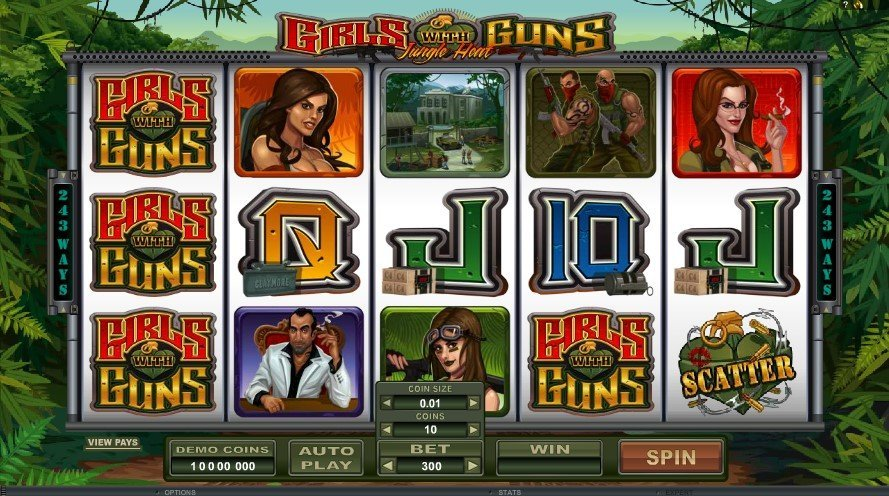 Girls With Guns Jungle Heat Slot Review