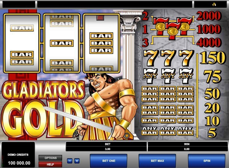 Gladiators Gold Slot Review