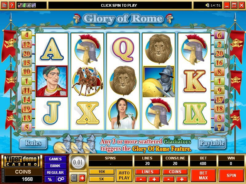 Glory Of Rome Slot Review
