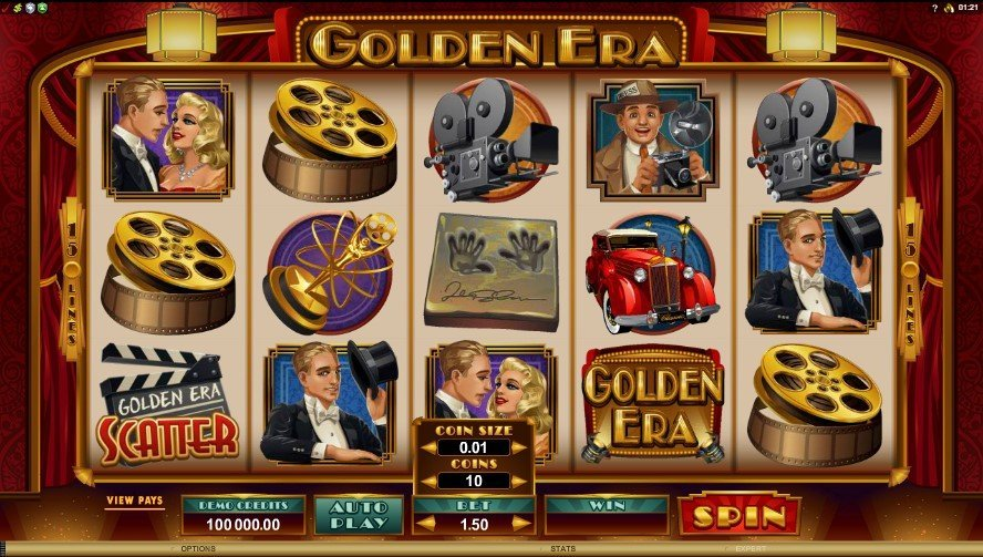 Golden Era Slot Review