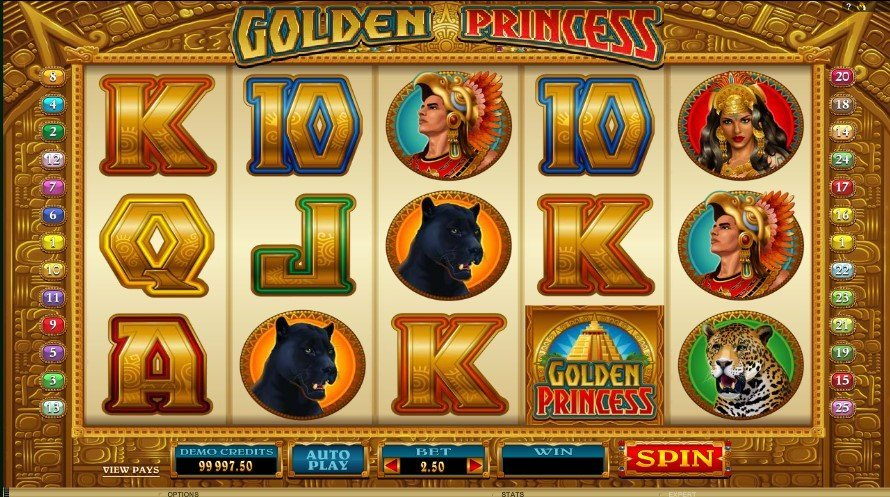 Golden Princess Slot Review