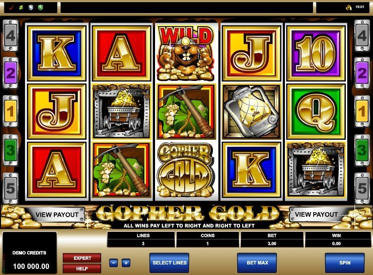 Gopher Gold Slot Review