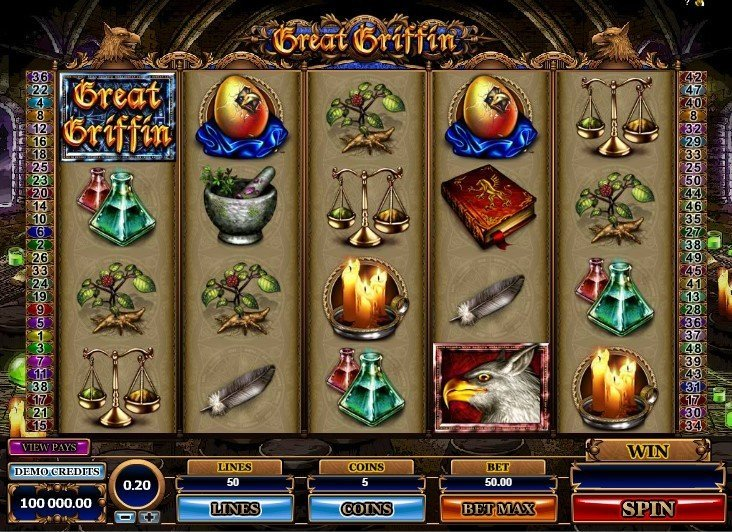 Great Griffin Slot Review