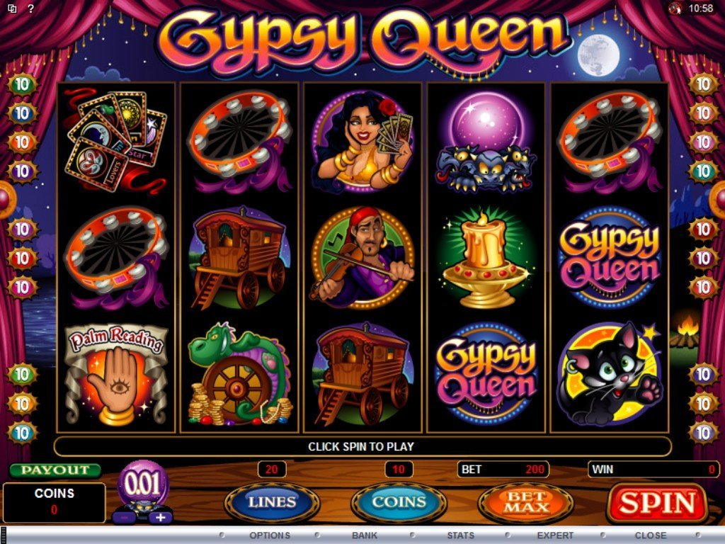 Gypsy Queen Slot Review