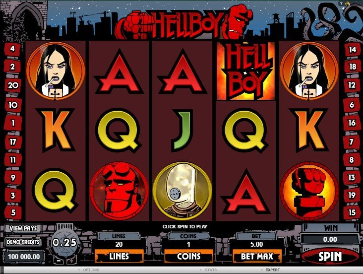 Hellboy Slot Review