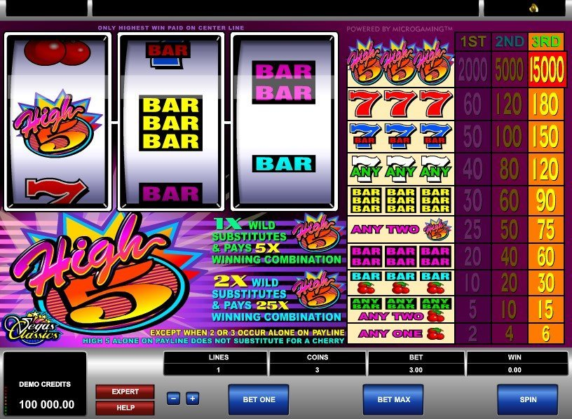 High 5 Slot Review