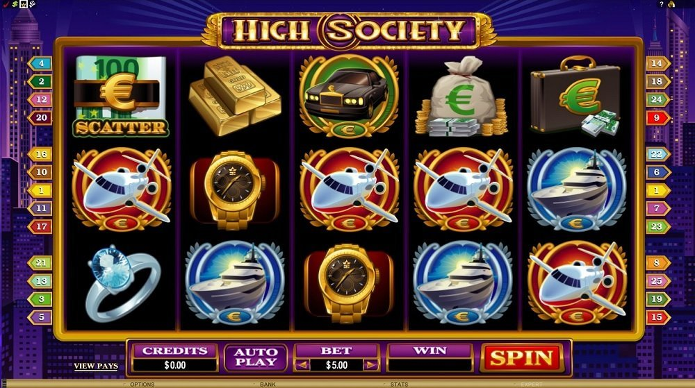 High Society Slot Review