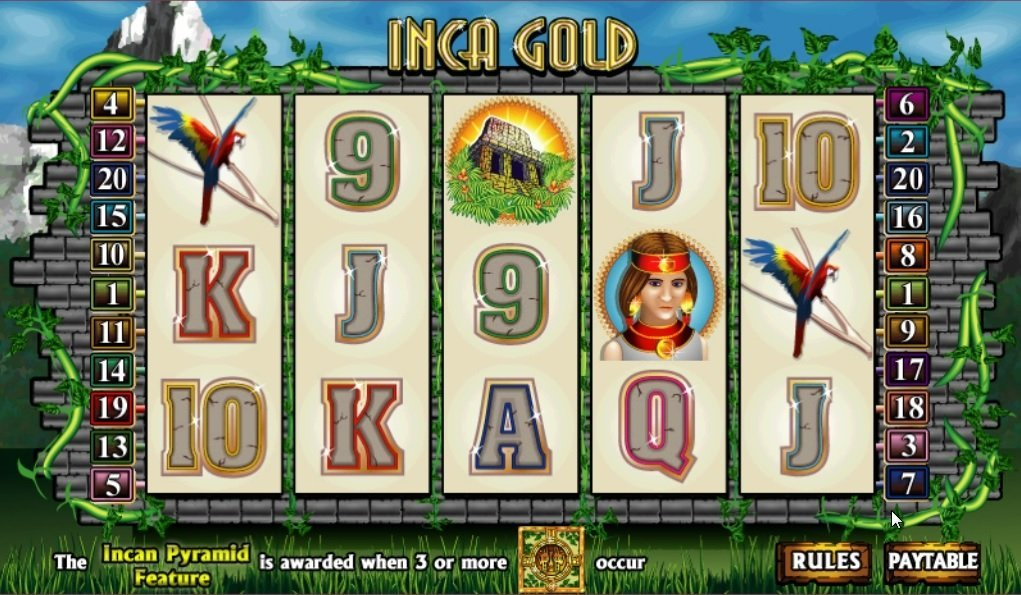 Inca Gold Slot Review