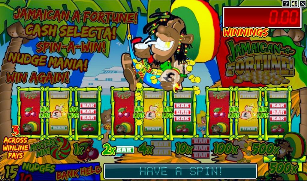 Jamaican A Fortune Slot Review