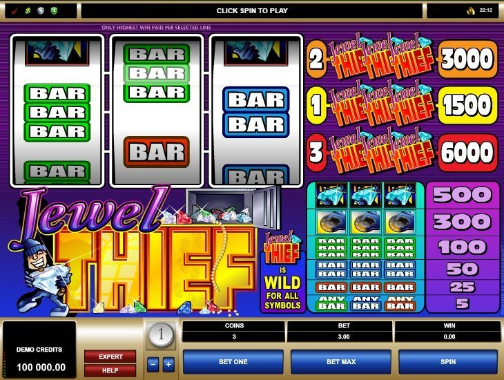 Spiele Jewel Thief - Video Slots Online