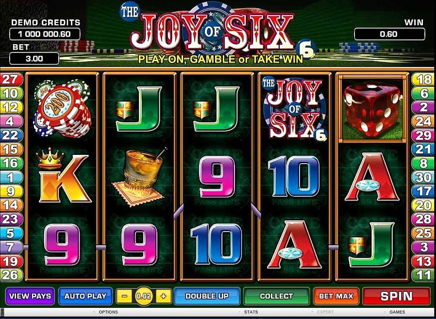 Joy Of Six Slot Review