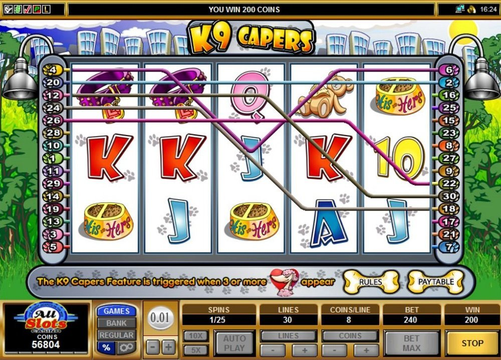 K9 Capers Slot Review