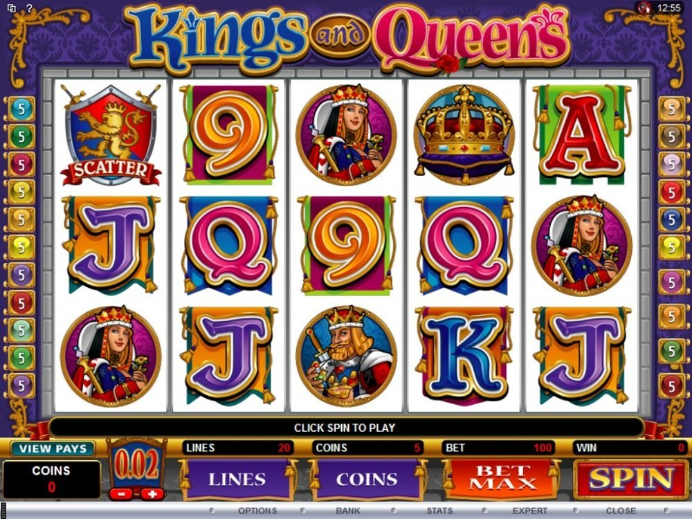 Kings And Queens Slot Review