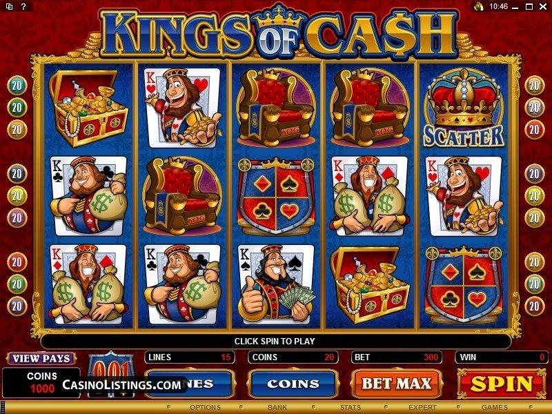 Kings Of Cash Slot Review