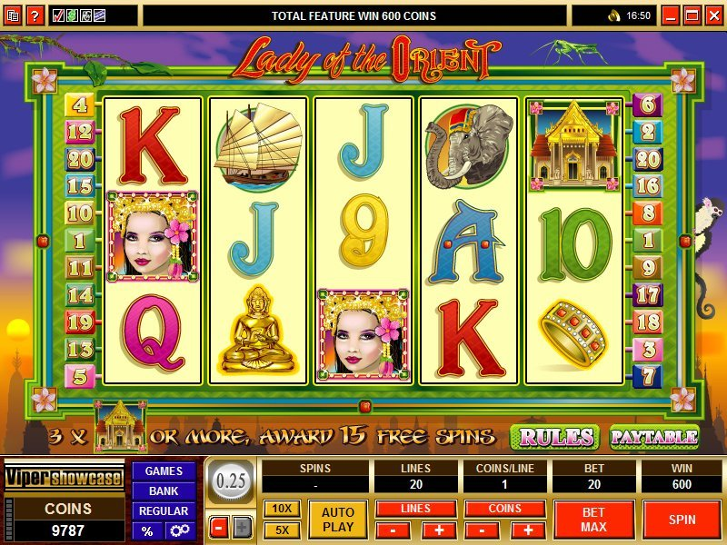 Lady Of The Orient Slot Review