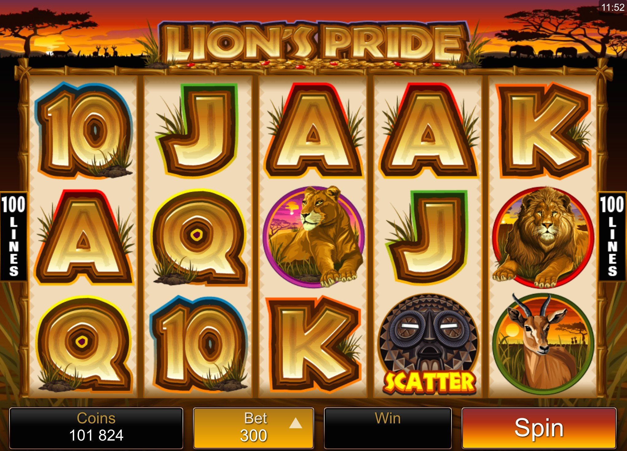 Lions Pride Slot Review