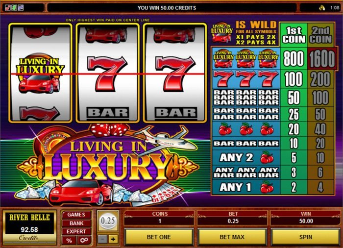Living In Luxury Slot Review
