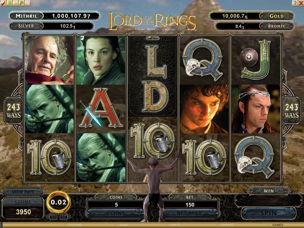 Lord Of The Rings Fellowship Of The Ring Slot Review