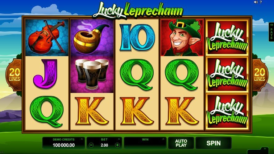Lucky Leprechaun Slot Review