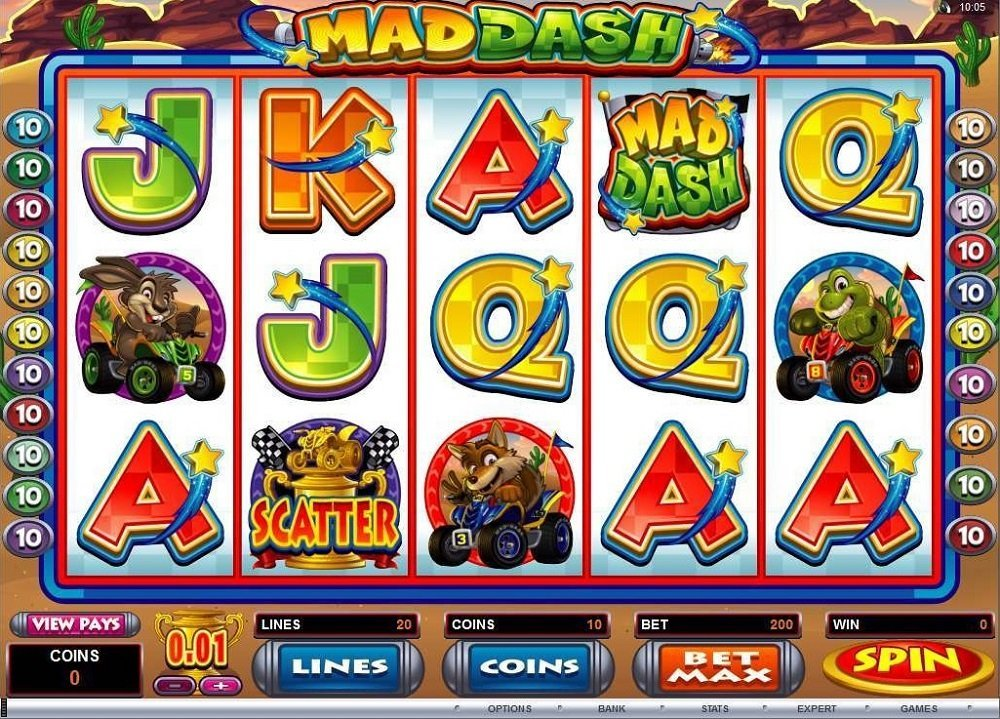Mad Dash Slot Review
