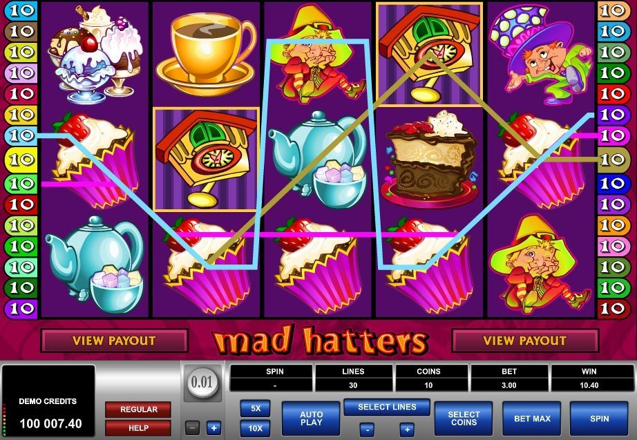 Mad Hatters Slot Review
