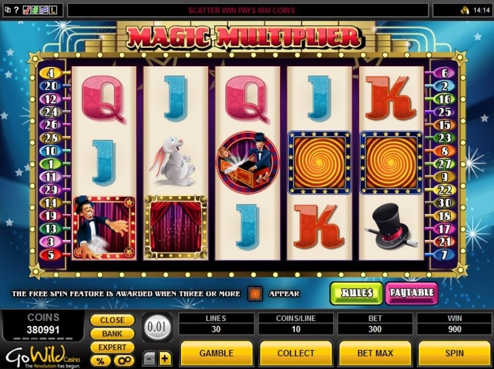 Magic Multiplier Slot Review