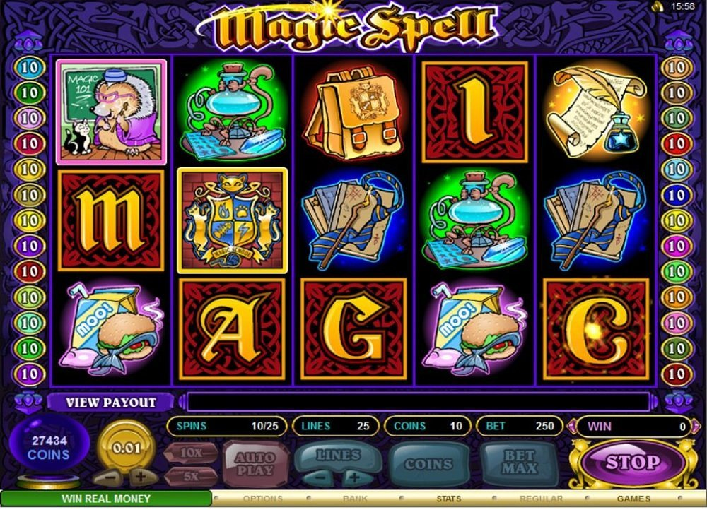 Magic Spell Slot Review