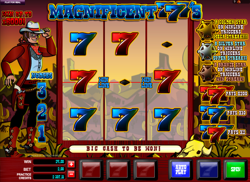 Magnificent 777s Slot Review