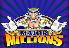 Major Millions 3 Reel Slot