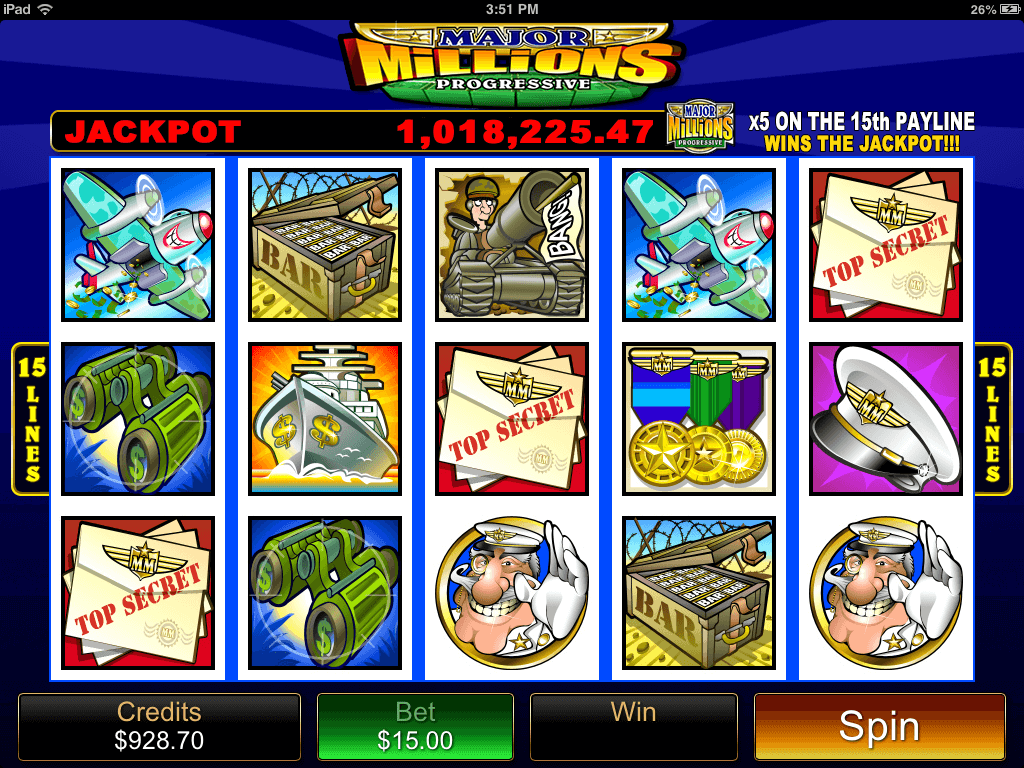 Image result for Major Millions Jackpot Slots