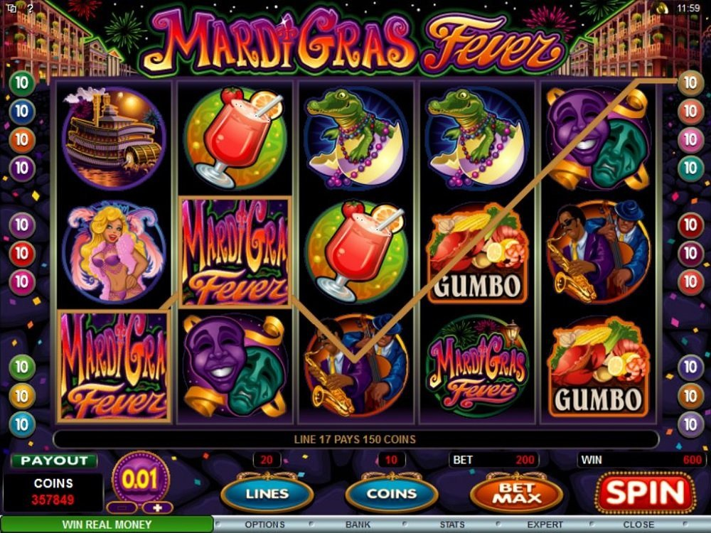Mardi Gras Fever Slot Review