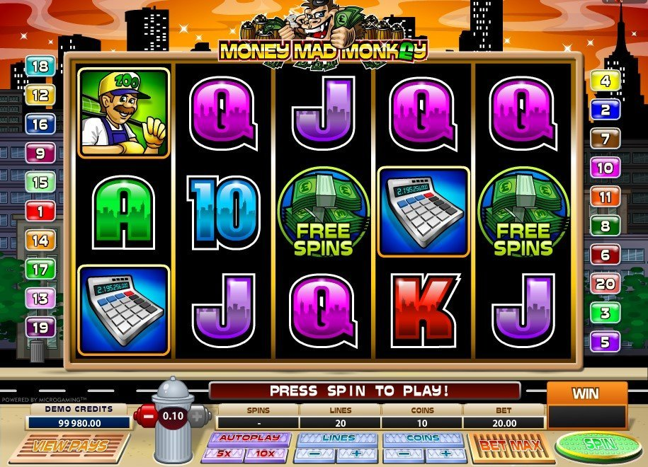 Money Mad Monkey Slot Review