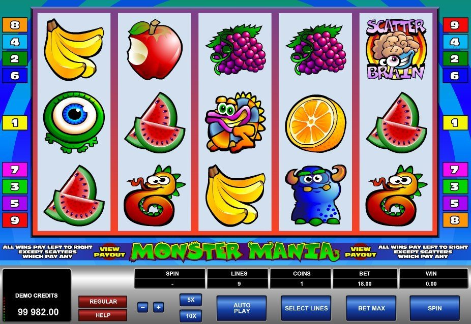 Monster Mania Slot Review