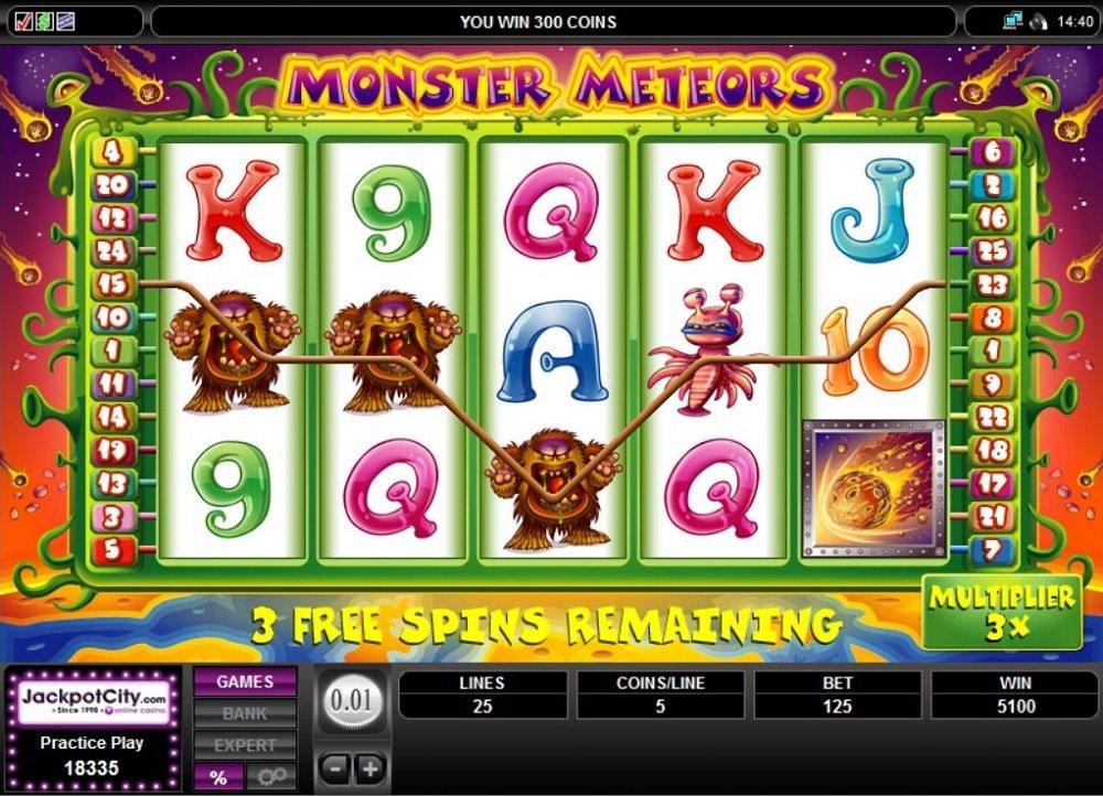 Monster Meteors Slot Review