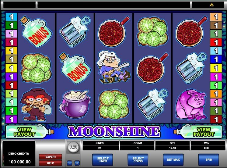 Moonshine Slot Review
