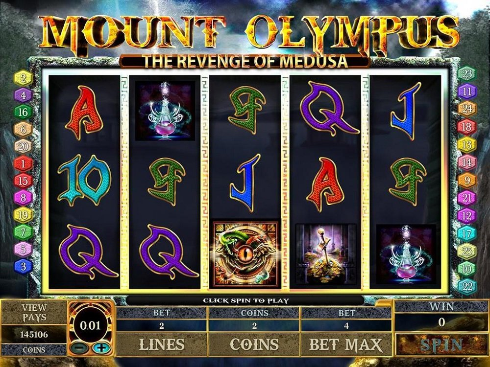 Mount Olympus The Revenge Of Medusa Slot Review