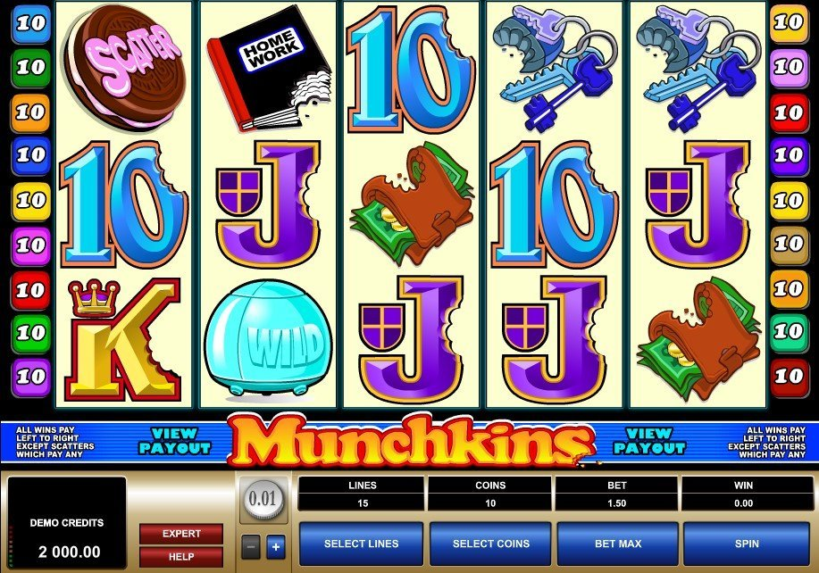Munchkins Slot Review