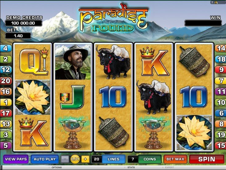 Paradise Found Slot Review