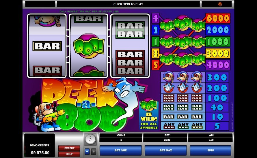 Peek A Boo Slot Review