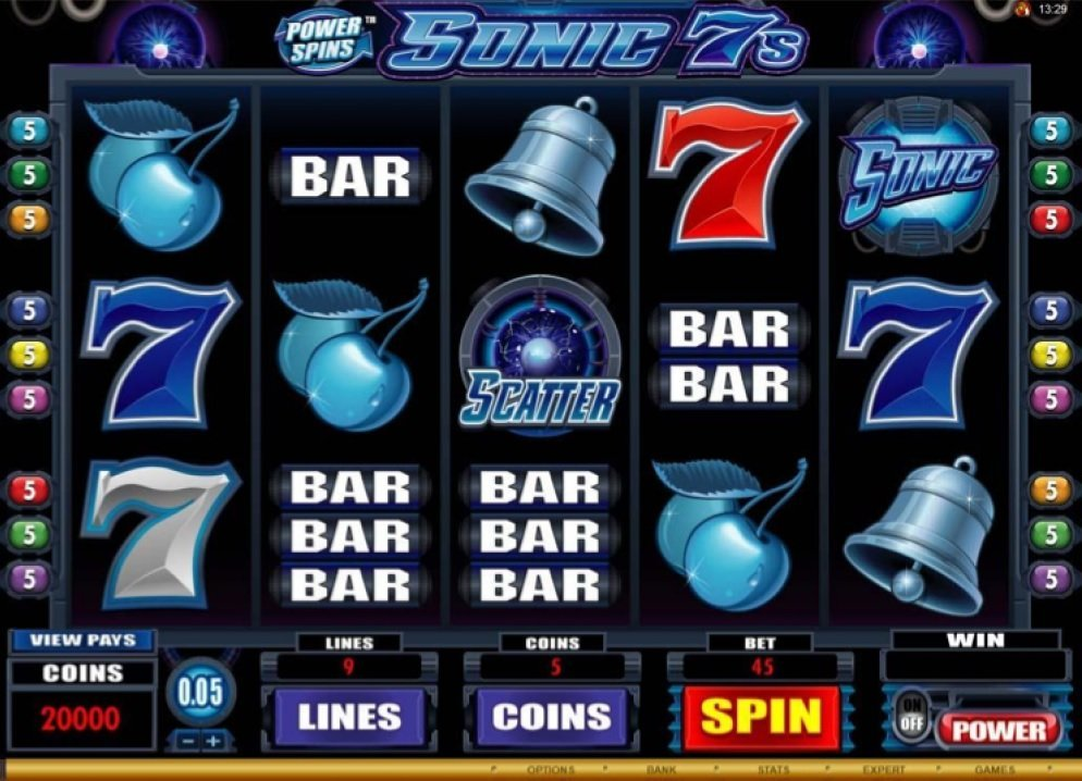 Power Spins Sonic 7s Slot Review