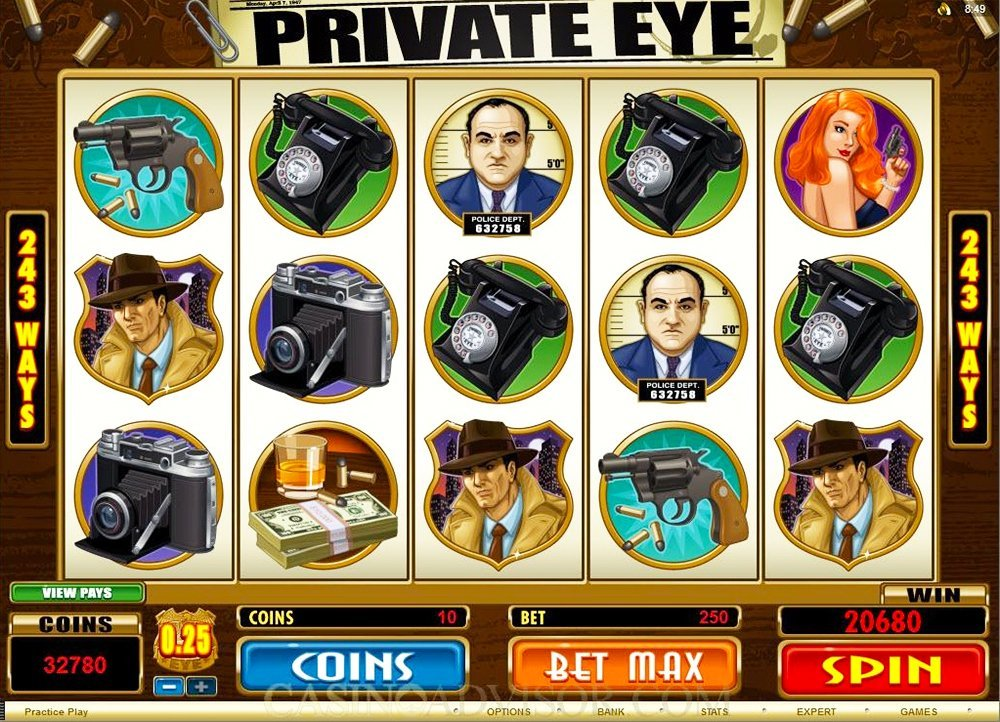 Private Eye Slot Review